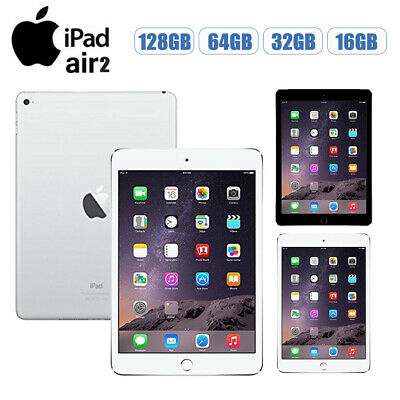 Apple iPad Air2 16/32/64/128GB Wi-Fi or 4G 9.7in All Colours Various Grades UK