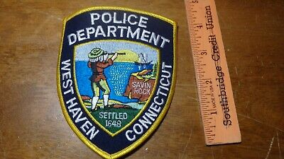 CONNECTICUT, EAST HAVEN Police Dept Patch - $4 00 | PicClick