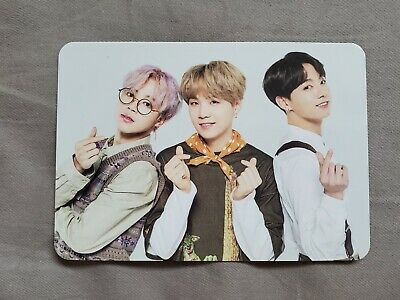 BTS 5th Muster Magic Shop MD Photocard Group Unit SUGA Jimin Jungkook 2 out of 4