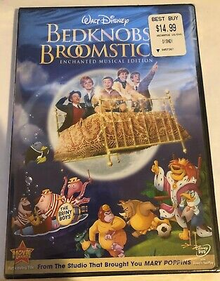 Bedknobs And Broomsticks Enchanted Musical Edition Disney Brand New Sealed