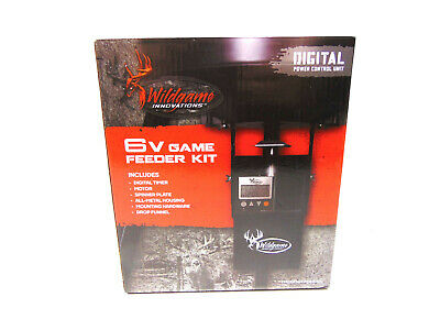 Wildgame Innovations TH-6VD Game Feeder Kit Digital Power Control Unit Brand New