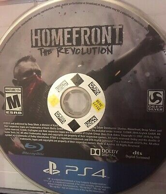 Homefront: The Revolution (DISC ONLY).  (Sony PlayStation 4, 2016)
