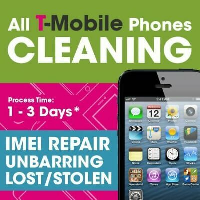 T-MOBILE USA IMEI Clean & Fix Service - All Brands & Models!!! 1-24 Hours READ
