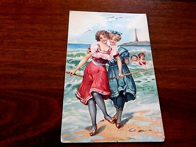 "1910. Postcard from France. 1910... ""L@@K""."