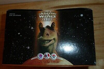 Star Wars Episode 1 Joking Jar Jar Binks KFC Taco Bell Pizza Hut 1999 SEALED!
