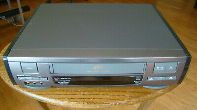 JVC HR-VP612U Video Cassette Recorder Fully Tested Great Working Condition