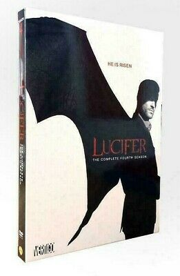 Lucifer Season 4 The Complete Fourth DVD Set Brand New Sealed/ and Free Shipping