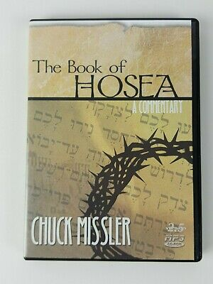 The Book of Hosea MP3 CD-ROM Chuck Missler Commentary Christian Bible 10+ Hours!