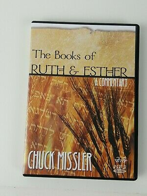 Book of Ruth & Esther Chuck Missler  CD Rom MP3 Audiobook Religion  Commentary