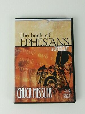 The Book of Ephesians MP3 CD-ROM Bible Commentary Chuck Missler 2001 10+ Hours!
