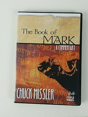 Book of Mark Chuck Missler MP3 CD-ROM Bible Commentary (16+ hrs) FREE SHIPPING