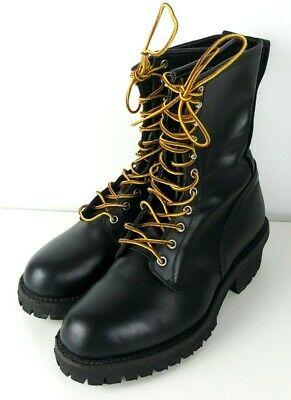 628fedc93f7 RED WING STOCK #4417 Steel Toe Loggermax Safety Work Boot Men's Size ...