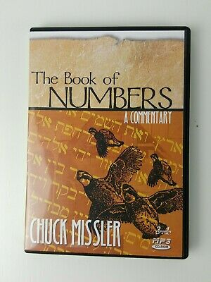 Book of Numbers Chuck Missler  CD Rom MP3 Audiobook Religion  Commentary
