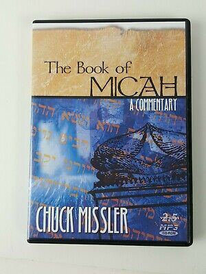 The Book of Micah: A Commentary by Chuck Missler Bible on CD-ROM MP3