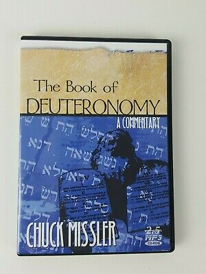 Book of DEUTERONOMY Christian Bible A Commentary MP3 CD-ROM Missler Version 2.5