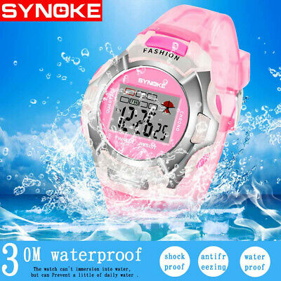 Children's Watch Luminous Waterproof PU Plastic Watch Boy Girl Student Watch