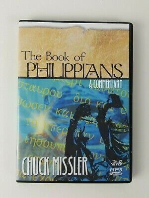 Book Of Philippians MP3 CD-ROM Chuck Missler 2002 Commentary Christian Bible 2.5