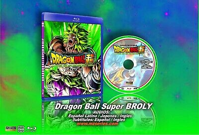 Dragon Ball Super Broly BluRay Latino tri audios and español ingles subts boxset