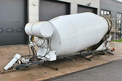 Truckmixer Concrete Mixer Equipment. Came Off Actros 8X4 32 Tonne Rigid.