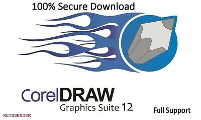 Corel Draw Graphics Suite 12 Graphic Design Program Download + Lifetime License