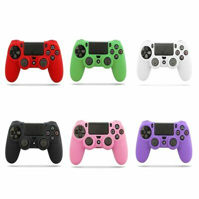 Silicone Cover Skin Rubber Grip Case For Sony Playstation 4 PS4 Controller KU