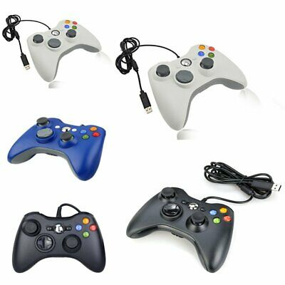 USB Wired Xbox 360 Controller Game Pad For Microsoft Xbox 360 PC Windows KU
