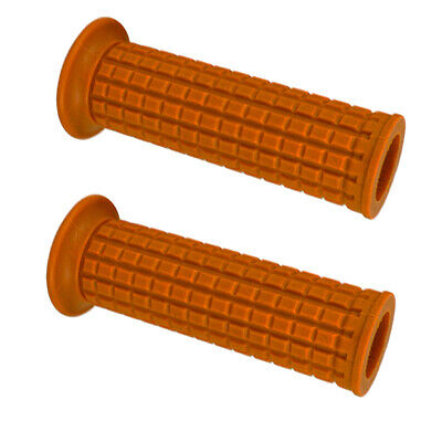 Motorcycle Rubber Handlebar Hand Grip Autobike Handle Bar for 25/28MM Dia.