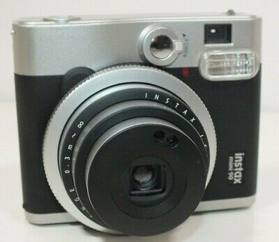 Fujifilm Instax Mini 90 Neo Classic Instant Film Camera & Battery Charger