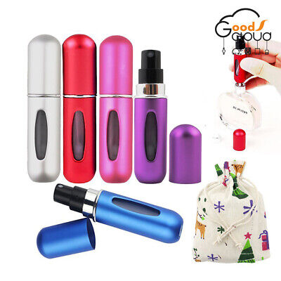 Travel Set 5ML Portable Mini Refillable Perfume Atomizer Bottle Scent Pump Spray