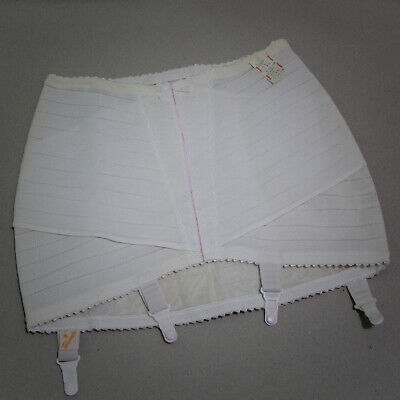 NOS Vintage Triumph Open Girdle with suspenders + Vintage Stockings.