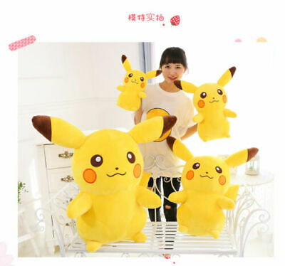Giant Large Huge Pokemon go Pikachu Soft Stuffed Kid Plush toys Figure gift