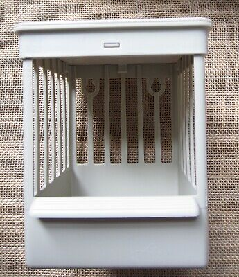 2 x  General Purpose  nest cages, in  plastic,  for various small birds