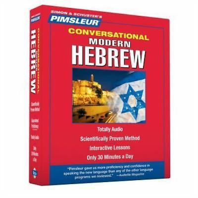 Pimsleur Hebrew Conversational Course - Level 1 Lessons 1-16 CD: Learn to Speak