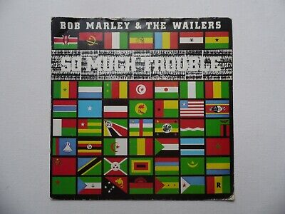 "Bob Marley & The Wailers - So Much Trouble 7"" Vinyl Record"