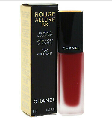 Chanel Rouge Allure Ink 152 Choquant - Rossetto Chanel Nuovo