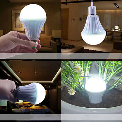 Energy Saving Intelligent Emergency Rechargeable Lamp Household-Outdoor LED Bulb