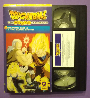 VHS FILM Ita Animazione DRAGON BALL Z I tre Super Sayan Deagostini no dvd (V151)