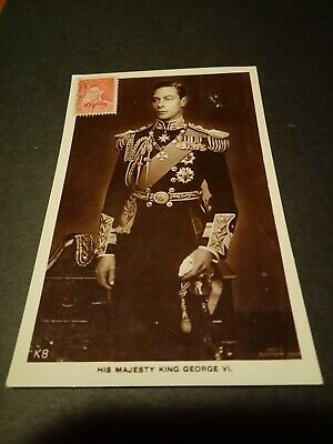 Vintage Maxicard/Postcard His Majesty King George V1.