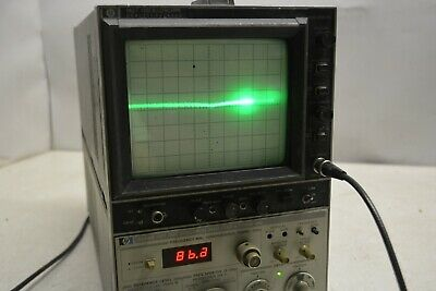 HP 8558B OPT 002 Spectrum Analyzer w/182T Display