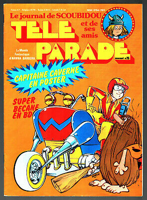TELE PARADE n°26 ¤ 1979 ¤ WICKIE ¤ avec POSTER CAPITAINE CAVERNE