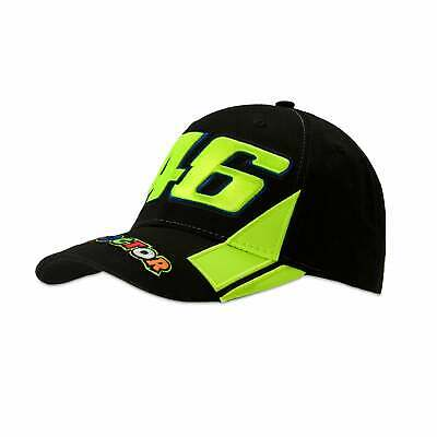 Valentino Rossi VR46 The Doctor 46 Cap Black 2019 ADULT