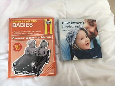 Haynes Explains Babies Manual/ New Fathers Survival Guide Book Like New