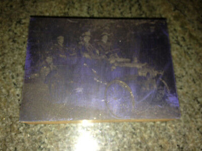 1913 Southern National Highway Car San Diego Printing Plate Book Newspaper rare