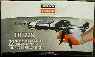 Simpson Strong-Tie Epoxy Dispensing Tool Edt22S For 22Oz Cartridges