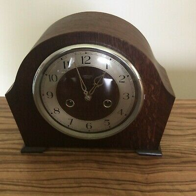 Smiths Enfield Art Deco Mantle  Chime Clock