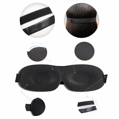 3D Cute Eye Mask Sleep Travel Shade Cover Rest Relax Sleeping Blindfold Gifts IK