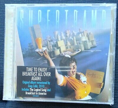 "Supertramp ""Breakfast In America"".  Cd Nuevo !  New ! Sealed ! 2010 Remastered"