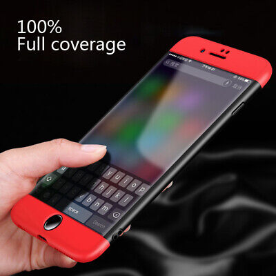 360° Waterproof Case For iPhone X 6s 7 Plus 8 5s Dustproof Rubber Phone Cover