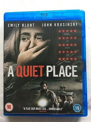 A Quiet Place Blu Ray Case ONLY, No disc
