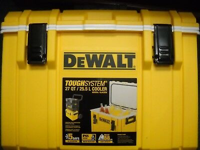 DEWALT DWST08404 ToughSystem Cooler 5 Days Ice Retention New